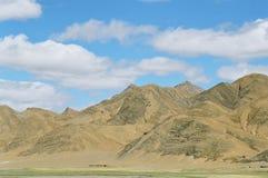 Тибетские горы Стоковая Фотография
