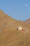 Тибетские дома горы Стоковое Изображение RF