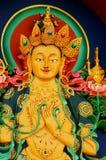 Тибетский Будда Стоковое Изображение