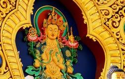 Тибетский Будда Стоковые Фото