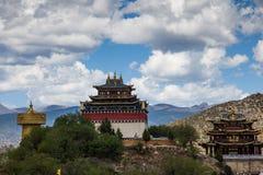 Тибетский висок Стоковая Фотография