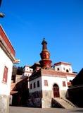 Тибетский висок Стоковые Фотографии RF