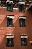 Тибетский красный дом Стоковые Изображения