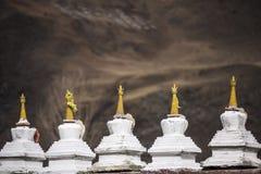 Тибетский монастырь Стоковые Изображения RF