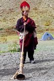 Тибетский монах Стоковое фото RF