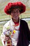Тибетский монах Стоковая Фотография RF