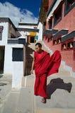 Тибетский монах Стоковые Фотографии RF