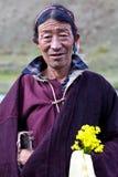 Тибетский номад Стоковая Фотография