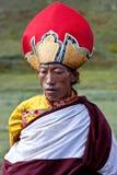 Тибетский номад Стоковые Изображения