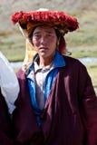 Тибетский номад Стоковые Изображения RF