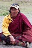 Тибетский номад Стоковые Фотографии RF