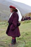 Тибетский номад Стоковое фото RF