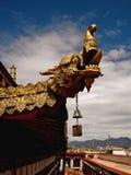 Тибетский шпиль дракона Стоковое фото RF