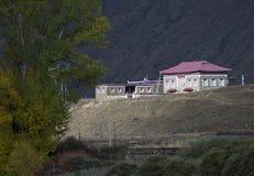 тибетское село Стоковые Изображения