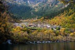 Тибетское село Стоковые Фото