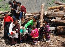 тибетцы стоковая фотография