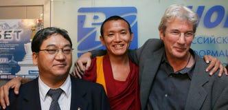 тибетцы richard gere стоковые фотографии rf