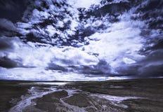 Тибет- большинств красивое место в Китае Стоковое фото RF