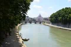 Тибр Рим Италия Стоковые Изображения