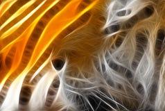 тигр иллюстрации Стоковое фото RF