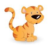 тигр младенца милый Стоковые Фото