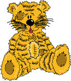 тигр плюша Стоковое Изображение RF