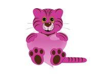 тигр сердца Стоковое Изображение RF