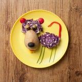 Тигр сделанный овощей Стоковое Изображение RF