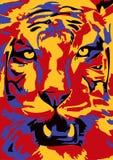тигр иллюстрация вектора