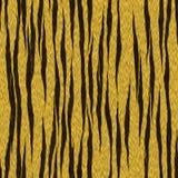 Тигр Stripes картина кожи безшовная Стоковая Фотография RF
