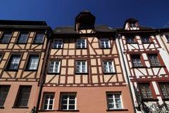 Тимберс обрамляя в Германии стоковое фото