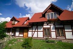 тимберс половинных домов самомоднейший Стоковая Фотография RF