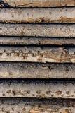 Тимберс плавая на реку Стоковое Изображение RF