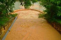Тинная вода после дождя Стоковая Фотография RF