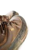 тинное ботинок кожаное Стоковая Фотография