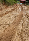 Тинное дороги влажное Стоковое Изображение RF