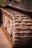 Тинный след гусеницы Стоковые Изображения