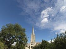 Типичная английская сцена - изображение запаса Стоковые Фото