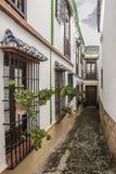 Типичная андалузская улица II Стоковое Фото