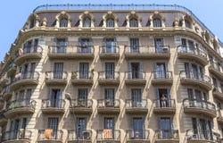 Типичная архитектура Барселоны Стоковые Изображения RF