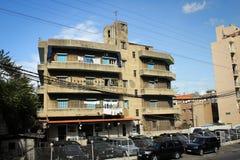 Типичная архитектура пригородов Бейрута, Ливан Стоковые Изображения