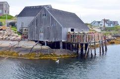 Типичная лачуга рыболова стоковое фото