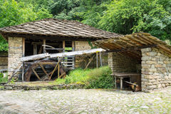 Типичная болгарская архитектура от периода empiri тахты Стоковые Изображения