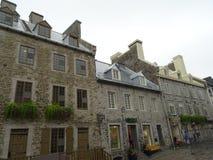 Типичная вошь в Квебеке (город) стоковая фотография rf