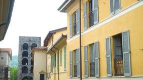 Типичная итальянская улица акции видеоматериалы
