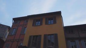 Типичная итальянская улица видеоматериал