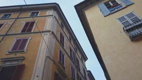 Типичная итальянская улица сток-видео