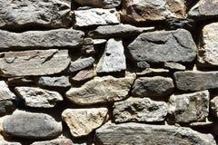 Типичная среднеземноморская текстура каменной стены Стоковое Изображение RF