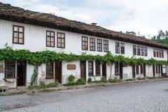 Типичная старая болгарская архитектура, Tryavna Стоковые Изображения