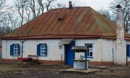 Типичная украинская дом Стоковые Изображения